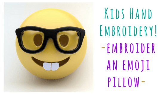 hand embroidery kids