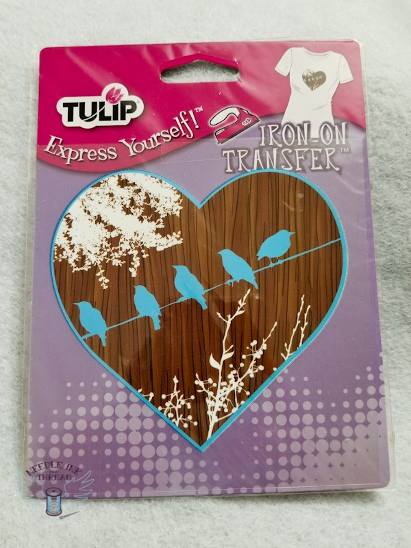Birds Heart - Tulip - Iron on Transfer - 26649 - Express Yourself